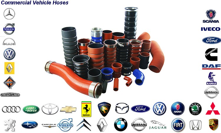 BB5 silicone hose for KAMAZ OEM NO 5320-1303027-01