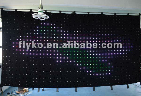 Icon led video curtain led theatre lighting