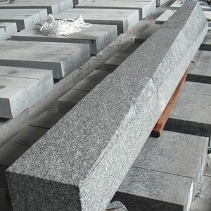 hot sale dark black granite curb stone