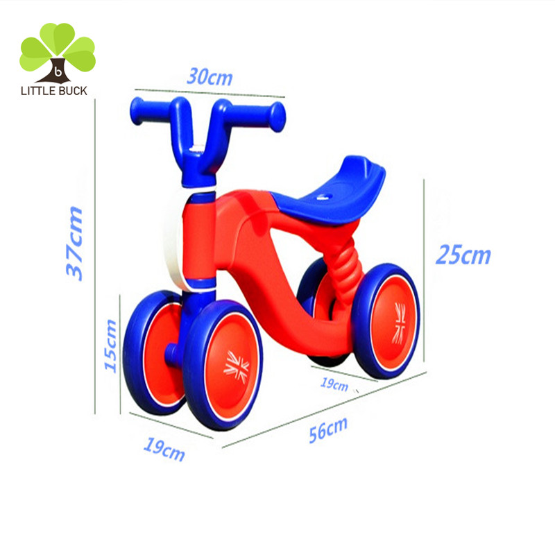 Newly kids first bike mini Balance Bike cheap price baby walker sliding car for small baby for wholesale