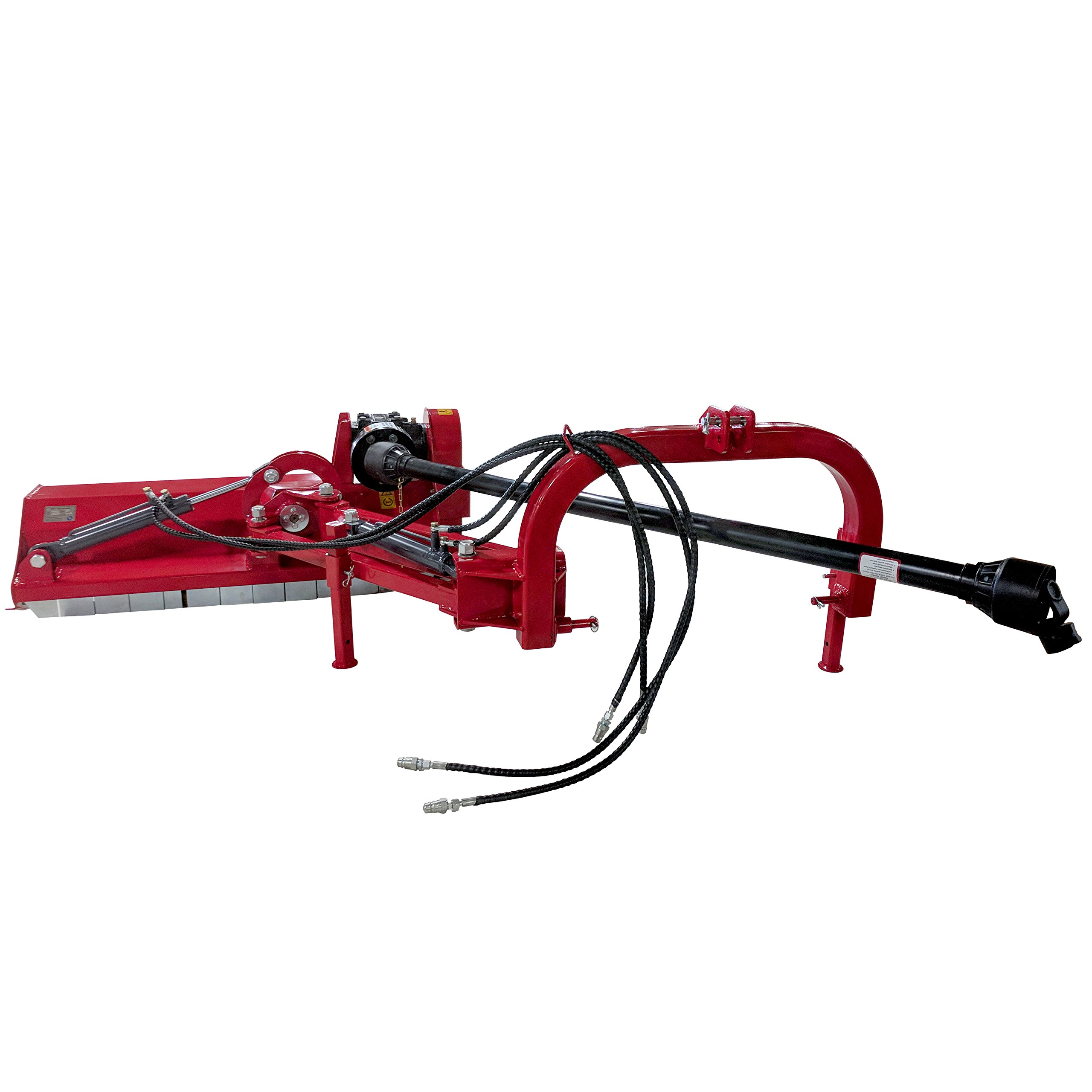 "Titan 48"" 3-Point Offset Flail Ditch Bank Mower"