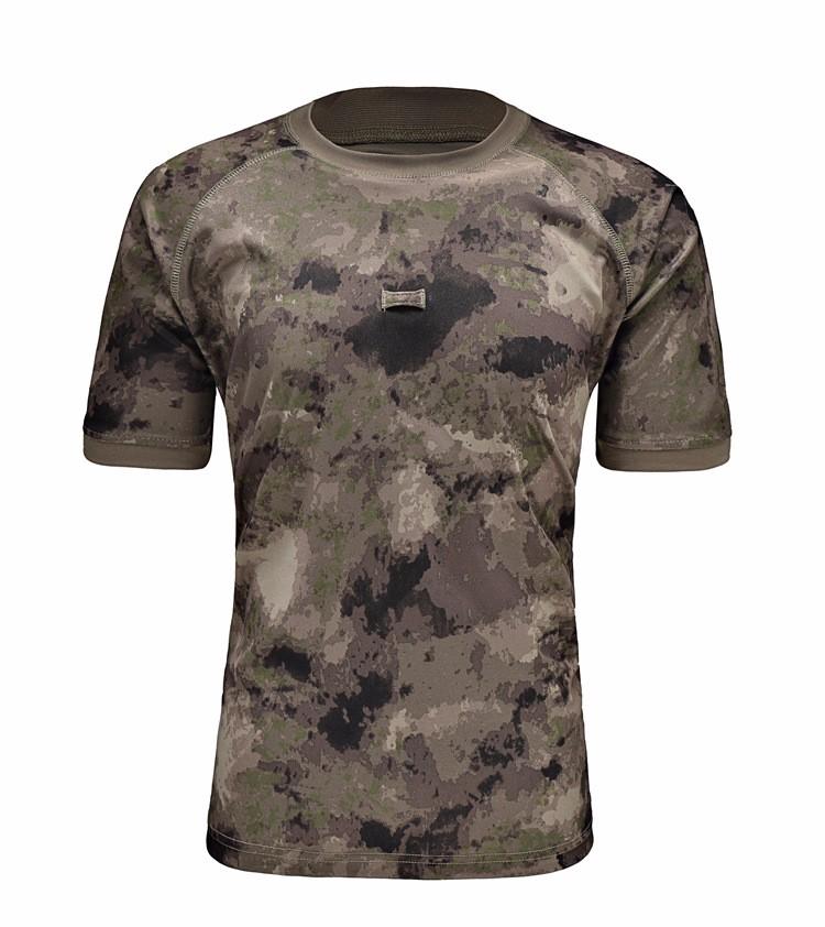 Customize Cheap Mens Wholesale Blank Camo Military T Shirt