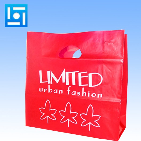 China factory degradable plastic bag daily used plastic carry bag design custom 50 micron plastic bag