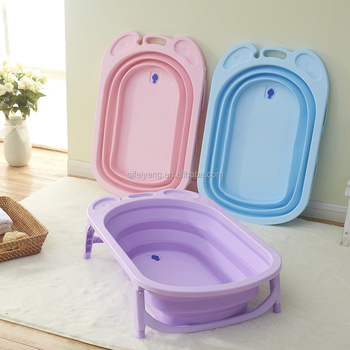 folding bathtubs factory direct large plastic bath tub for baby