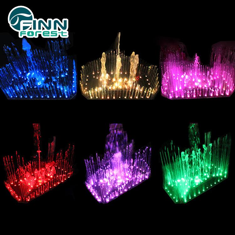Fenlinn hologram decorative colorful music water dancing fountain