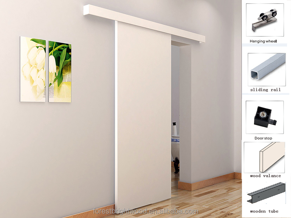 Solid Wooden Sliding Closet Door, Dining Room Door