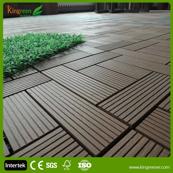 Good price wood plastic wpc foam boad composite decks for T g roof decking