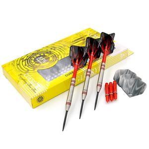 CUESOUL GLORY 85% Tungsten Steel Tip Dart with red rings, 22g/24g/26g available