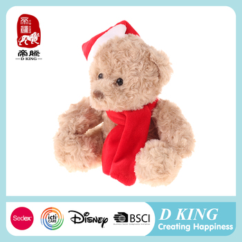 2016 wholesale christmas ornament toy cute mini teddy bear china suppliers
