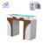 Hot sale MDF art nail manicure table with different color N091