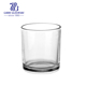Tealight candle cup empty clear replacement hanging glass candle holder