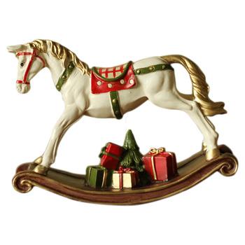 Christmas Decoration Polyresin Rocking