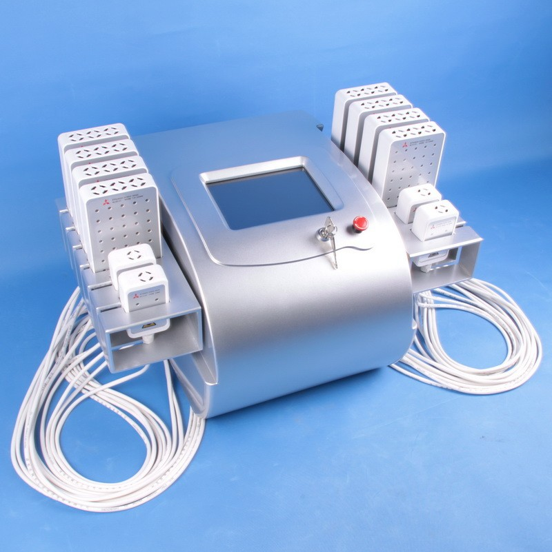 New technology 658nm + 980nm salon use liposuction machine , fat reducing lipolaser slimming