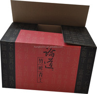 Made in China Wholesale Custom logo High Quality corrugate paper carton box package