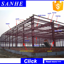 prefabricated warehouse price / steel warehouse