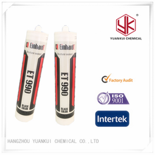 High Temperature Fast curing speed Construction Adhesive Uv sealant cartridgeFor Glass To Metal