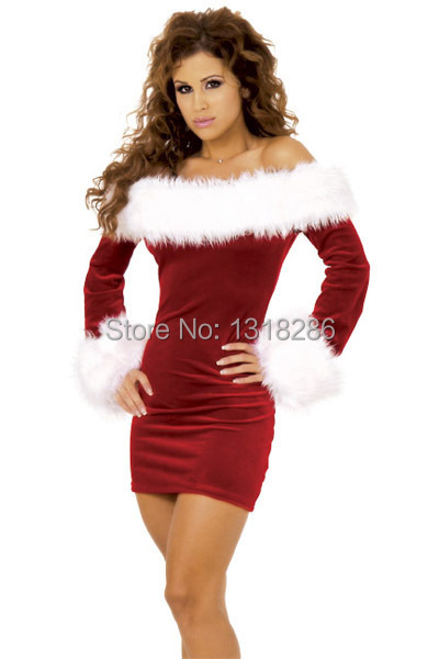 9b062e94c61 Get Quotations · 2014 women christmas dress sexy red christmas costumes  santa claus for adults sexy Cosplays for women