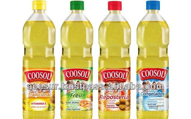 Coosol Sunflower Oil Spain