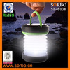 Bright Outdoors Solar Lantern Collapsible/ LED Flashlight USB Rechargeable with Emergency Powerbank