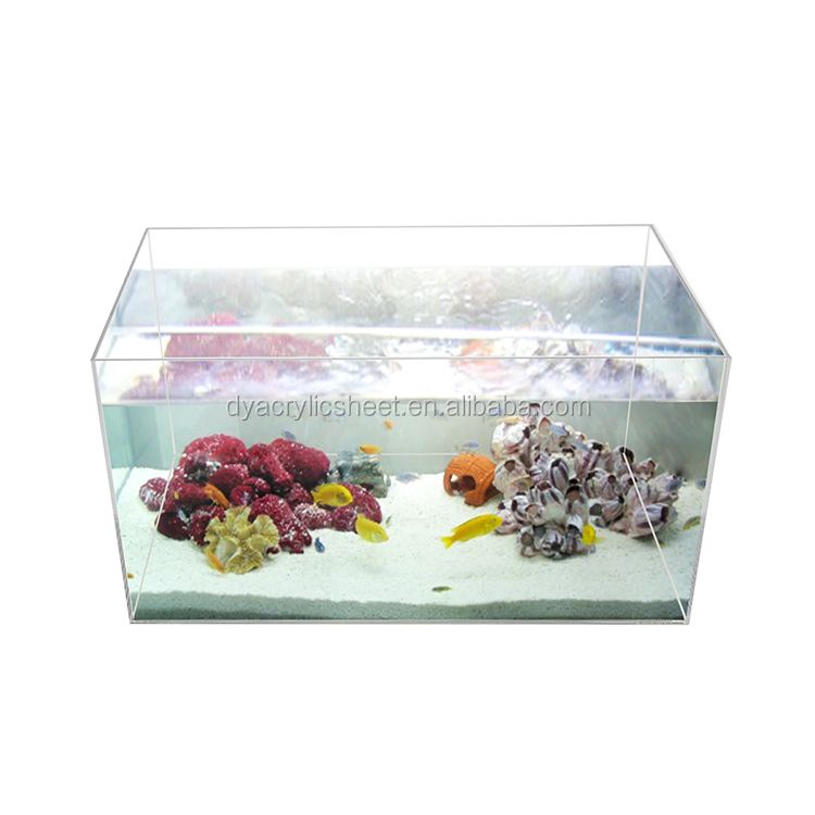 aquarium fish tank imported acrylic fish tank with divider fiberglass fish tank