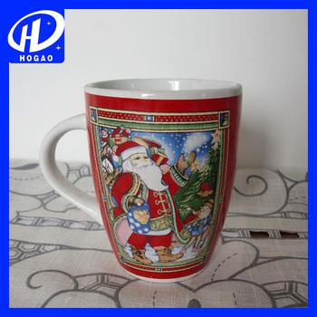 Noel Dekorasyon özel El Boya Seramik Kahve Kupa Bardak Buy Kupa