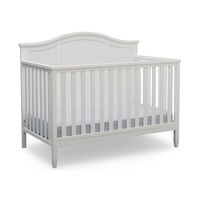 Customized morden E1 P2 powder coated MDF infant wood bed furniture