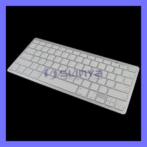 Slim Wireless Bluetooth Keyboard for iPad iPhone iPod Touch PS3