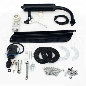 Wholesale CNC machined 80cc Motorized Bicycle parts Gas Engine Kit For Bicycle