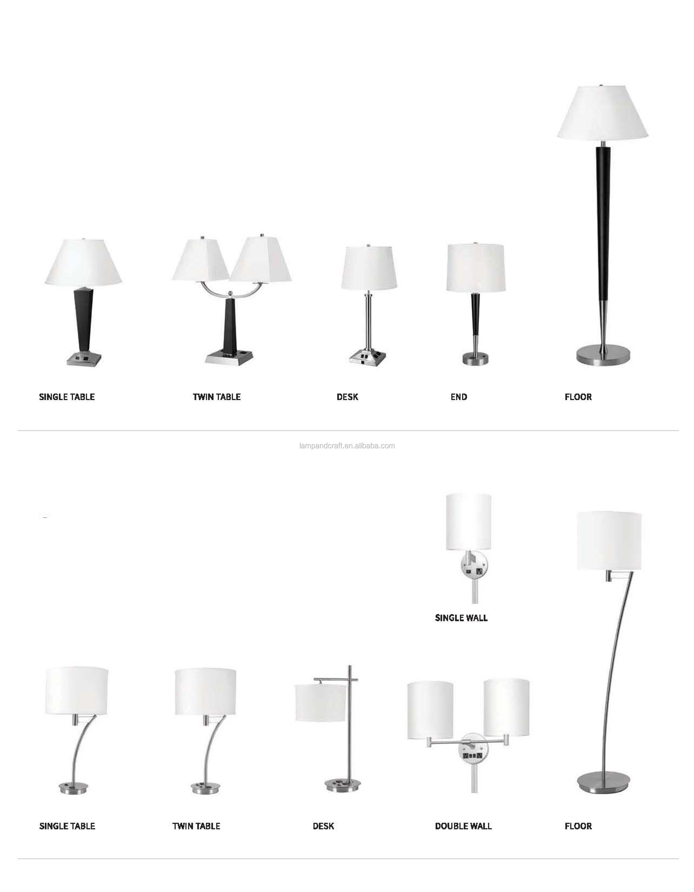 power motel shades products lodging american goods shade with supply lamp hotel outlets x lamps