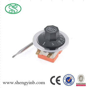 AC 250V Temperature Control Capillary Thermostat for Oven