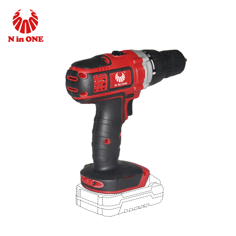 Power craft cordless battery power tools drill