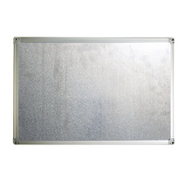 Professional Popular Office School Magnetic Dry Erase Combo Tack White Board in aluminum frame