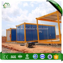 Factory Price prefabricated flat-pack container garden house/ shipping container house panama