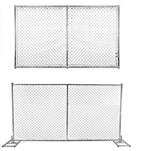6'x10' temporary fence chain link fence panels for sale