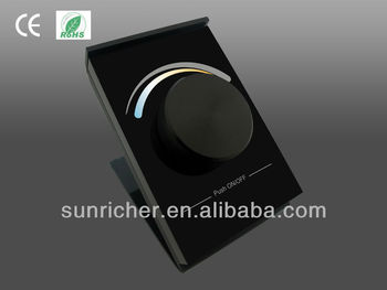 programmable mounted wireless rf dimmer buy wireless rf dimmer wireless rf led wall dimmer. Black Bedroom Furniture Sets. Home Design Ideas