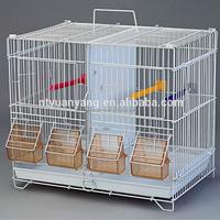 fold metal pet breeding bird cage house