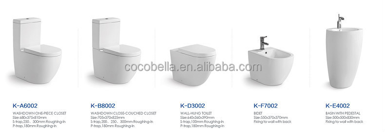 Coco Sanitary Ware Wc Toilet Water Closet