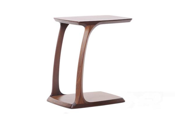 국가 빈티지 스타일의 단단한 호두 나무 소파 사이드 테이블 ...