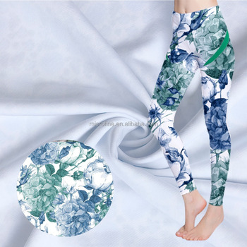 China supplier digital printing nylon spandex yoga fabric, sportswear fabric