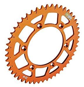 ProTaper 033270 Race Spec Aluminum Rear Sprocket - Orange - 50T, Sprocket Position: Rear, Sprocket Teeth: 50, Color: Orange, Material: Aluminum, Sprocket Size: 520