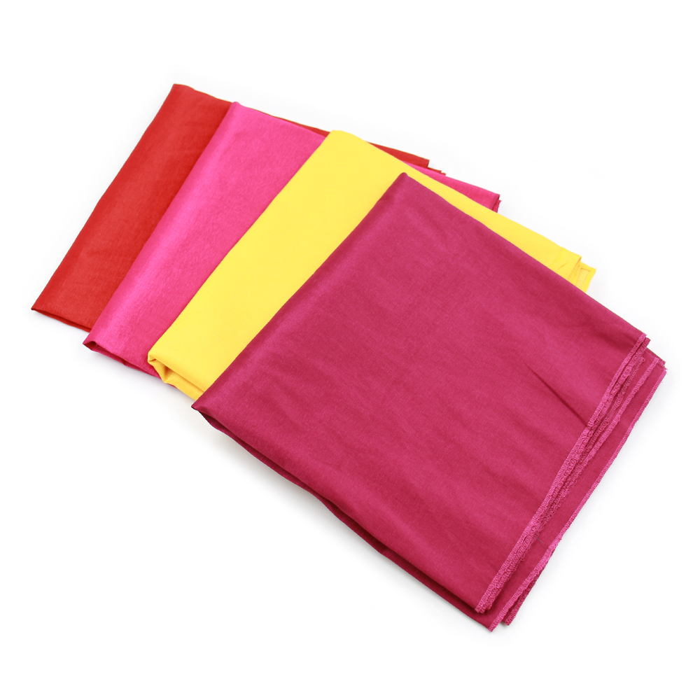 Wholesale Custom Printing Design Logo Soft Embroidered Flower Cashmere Sublimation Scarf Blanks