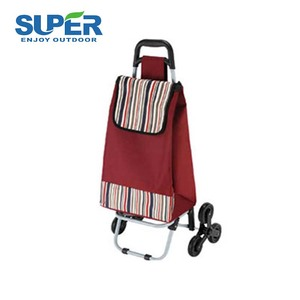 Outdoor 30L easy reusable folding shopping cart trolley