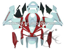 For Honda CBR600 CBR 600 2005-2006 Red White Injection Fairing Body Work