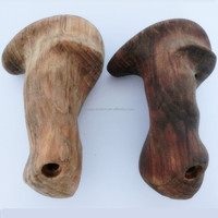 custom wood handle nice quality cnc wood part by cnc center