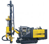 KY125 portable water well drilling rigs for sale