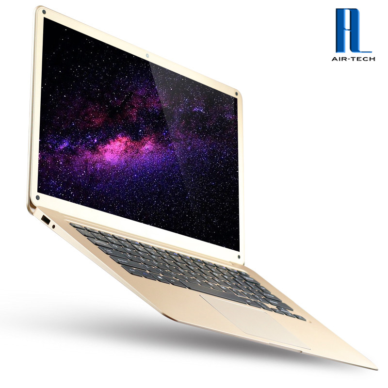 [Factory Direct Sales] Cheapest Silver/Gold High Quality Laptop Computers 4GB Ram/64GB SSD Intel Cherry Trail Z8350 CPU Netbook