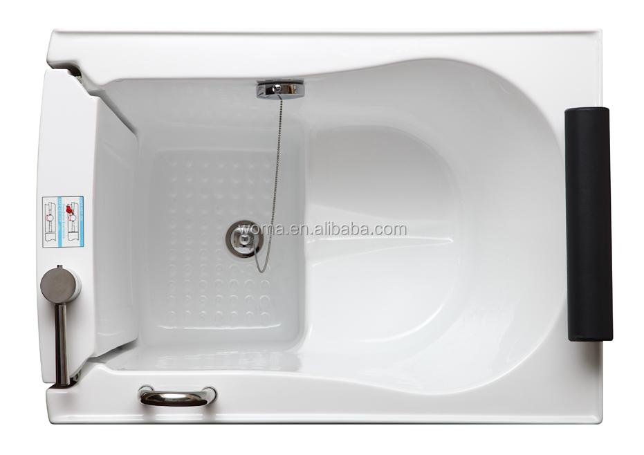 Amazing Low Entry Threshold Bathtub With Door Walkin Bath Tub With Seat Q376