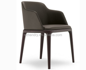 Wholesale fashion leather chair/ding room PU chair