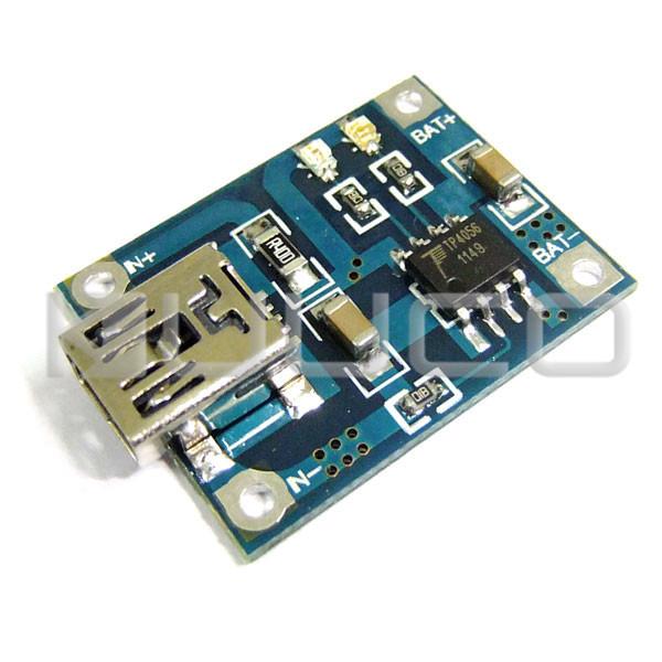 Usb Mobile Power Charging Circuit Board Mini Usb Port 1a