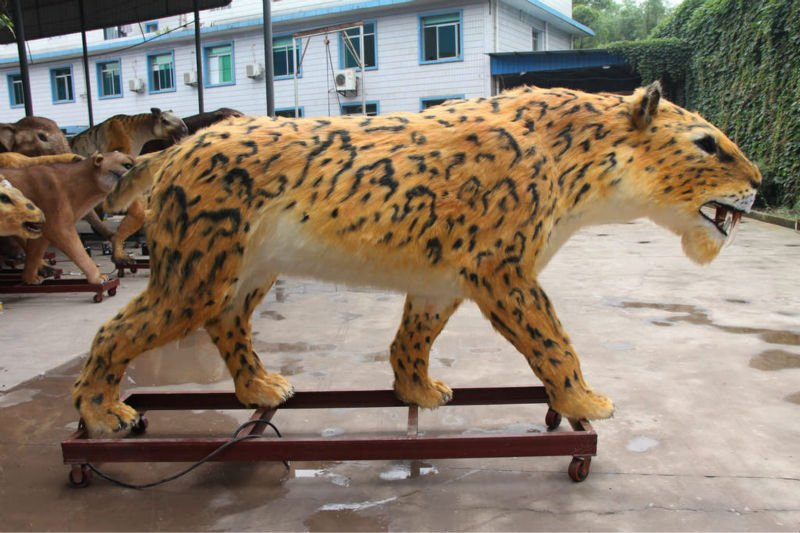 Jaguar Animated Animal Smilodon